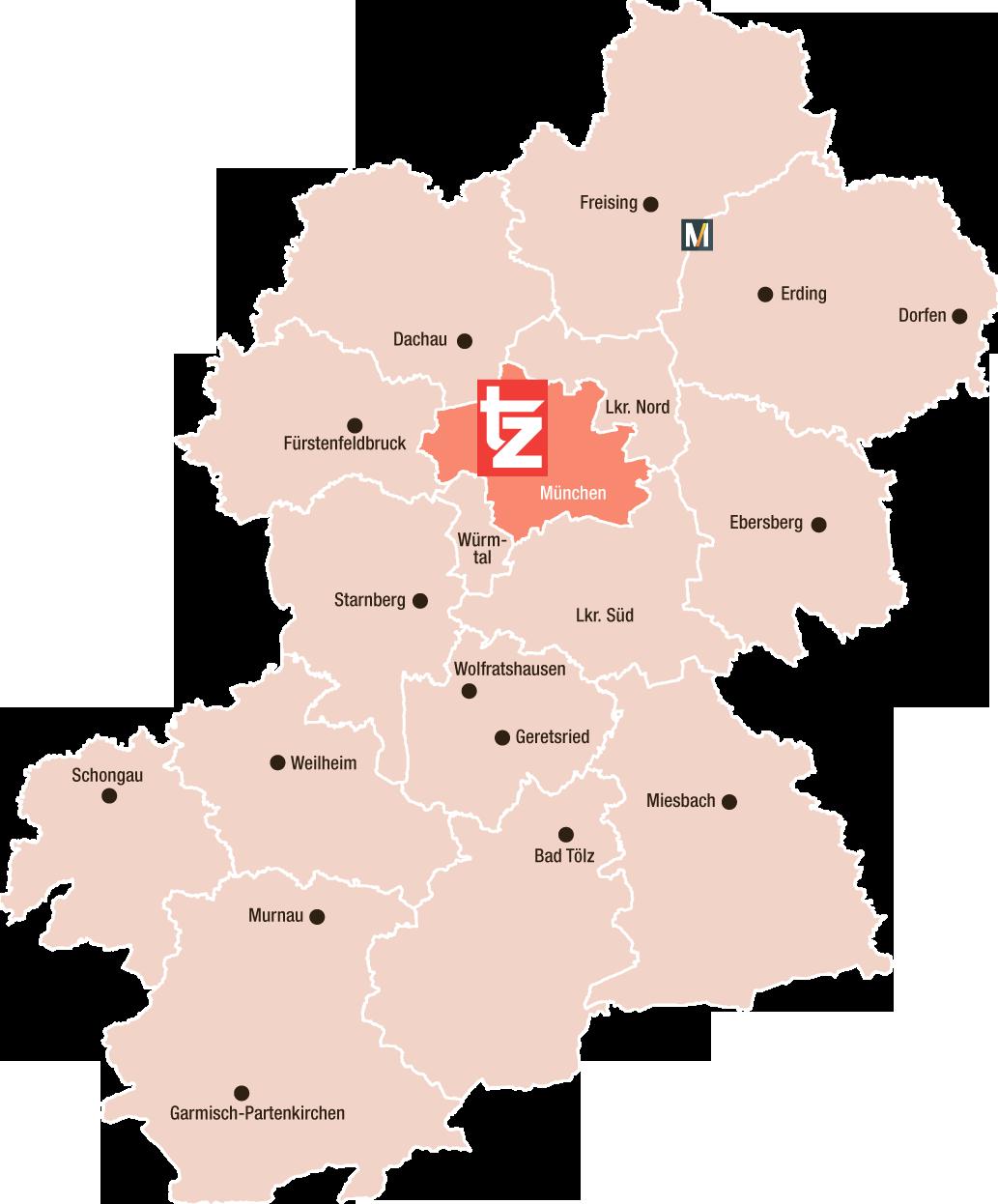 Großraum München tz