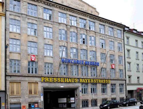 Hinschauen! Die besondere Fassade des Pressehauses Bayerstraße