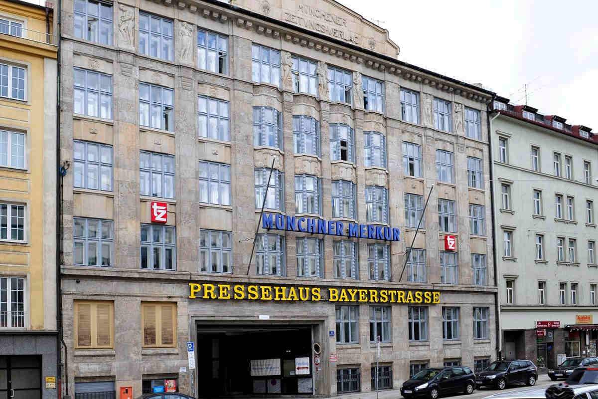 Verlagsgebäude Münchner Merkur tz