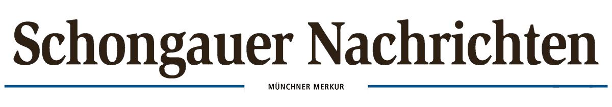Schongauer Nachrichten Titelkopf