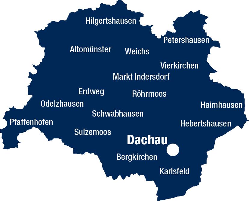 Verbreitungsgebiet Garmisch-Partenkirchner Tagblatt